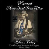 CD cover for Wanted More Dead Than Alive